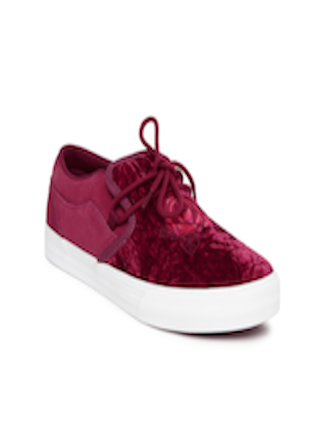 01ba8b263e13 Buy Supra Disney Women Red CUBANA Skate Shoes - Casual Shoes for ...