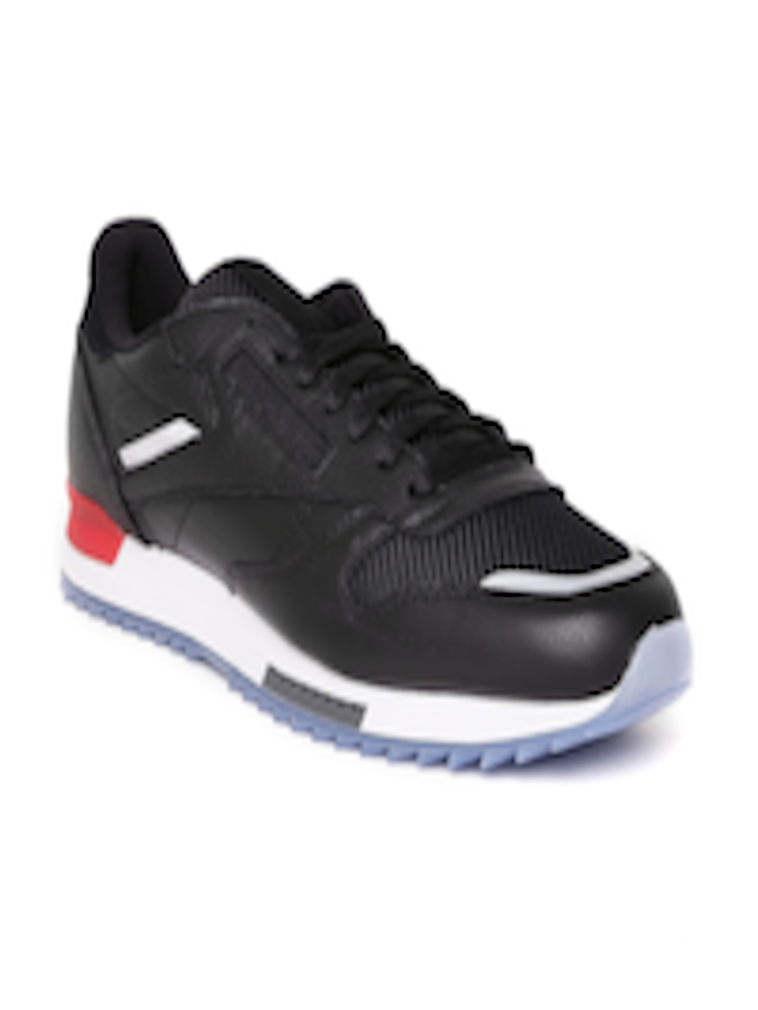 797b9a0bf9e6 Buy Reebok Classic Men Black CL Leather Ripple BP Sneakers - Casual Shoes  for Men 2003319 | Myntra