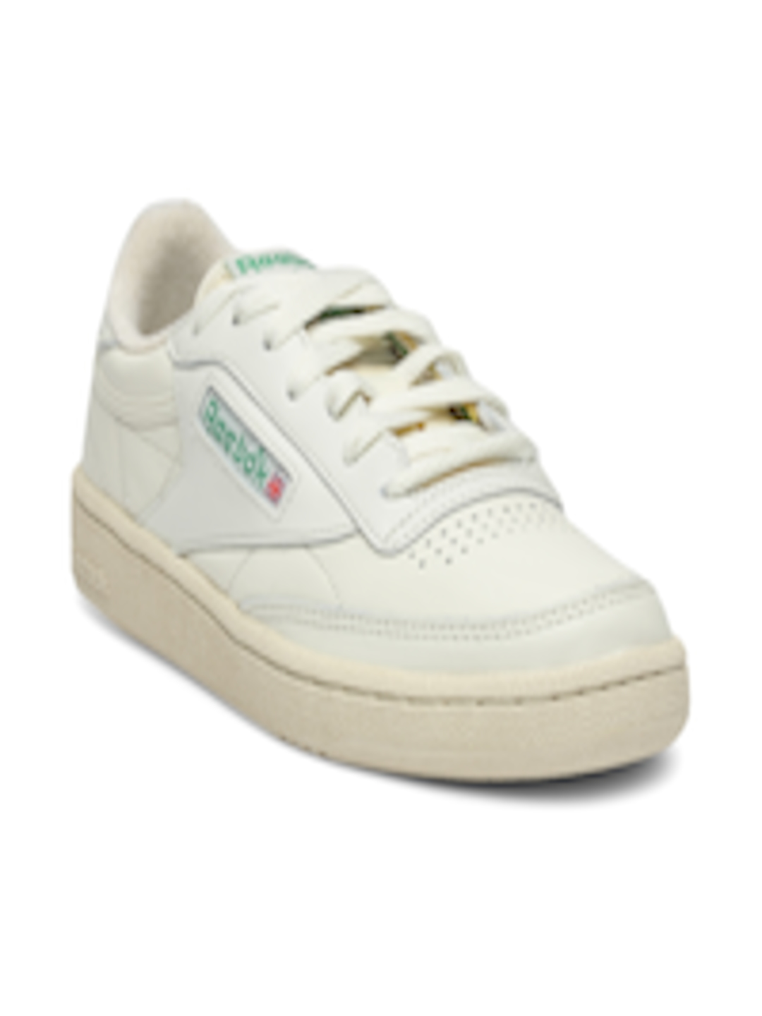 Buy Reebok Classic Women Off White Club C 85 Vintage Leather Sneakers -  Casual Shoes for Women 2003423  e2f3fbf89