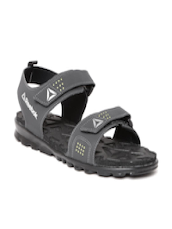 6ca2da342f4 Buy Reebok Men Charcoal Grey Royal Flex Sports Sandals - Sports Sandals for  Men 2003513