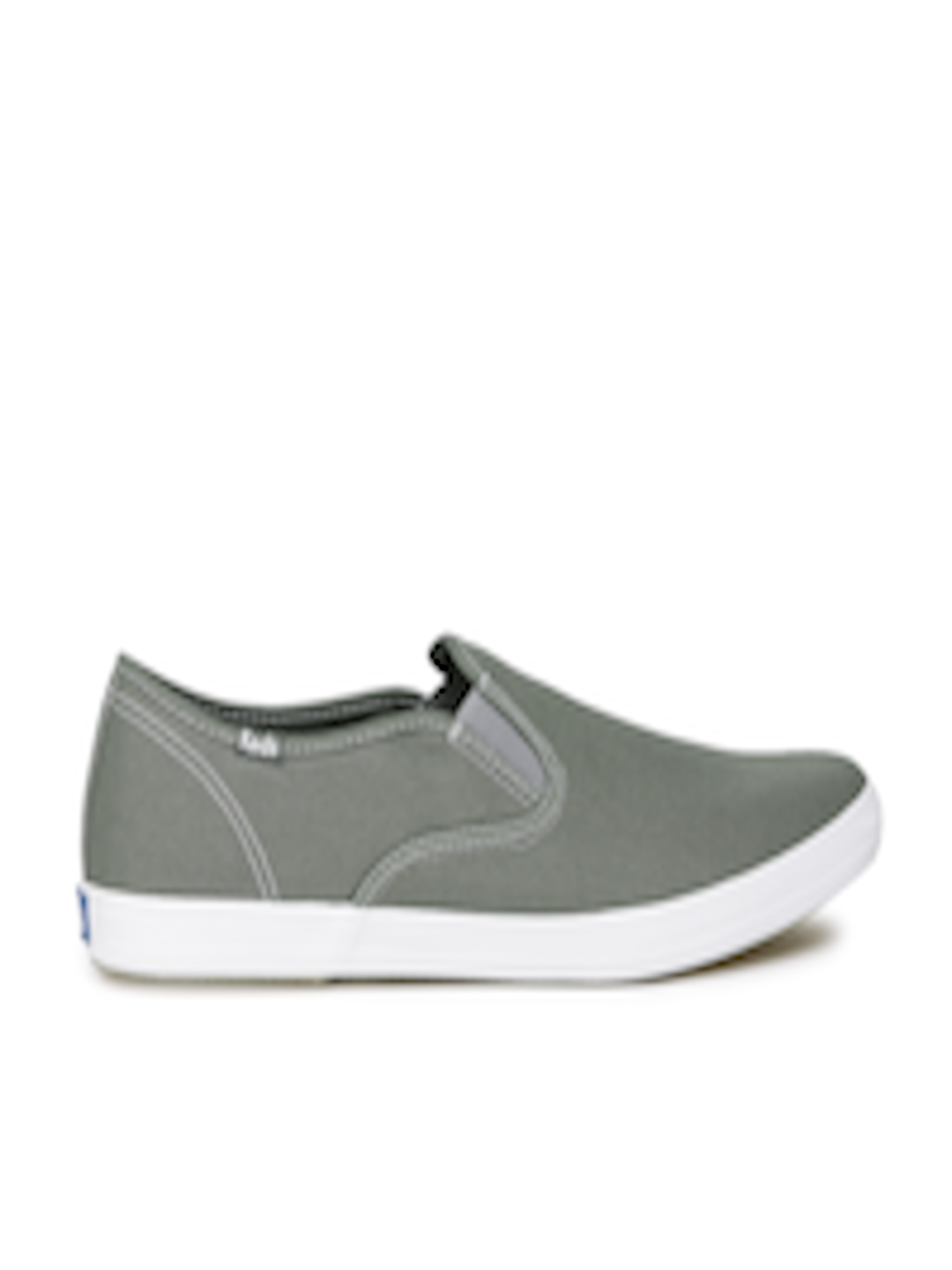 5a6b518ad71db Buy Keds Men Grey Slip On Sneakers - Casual Shoes for Men 2013845 ...