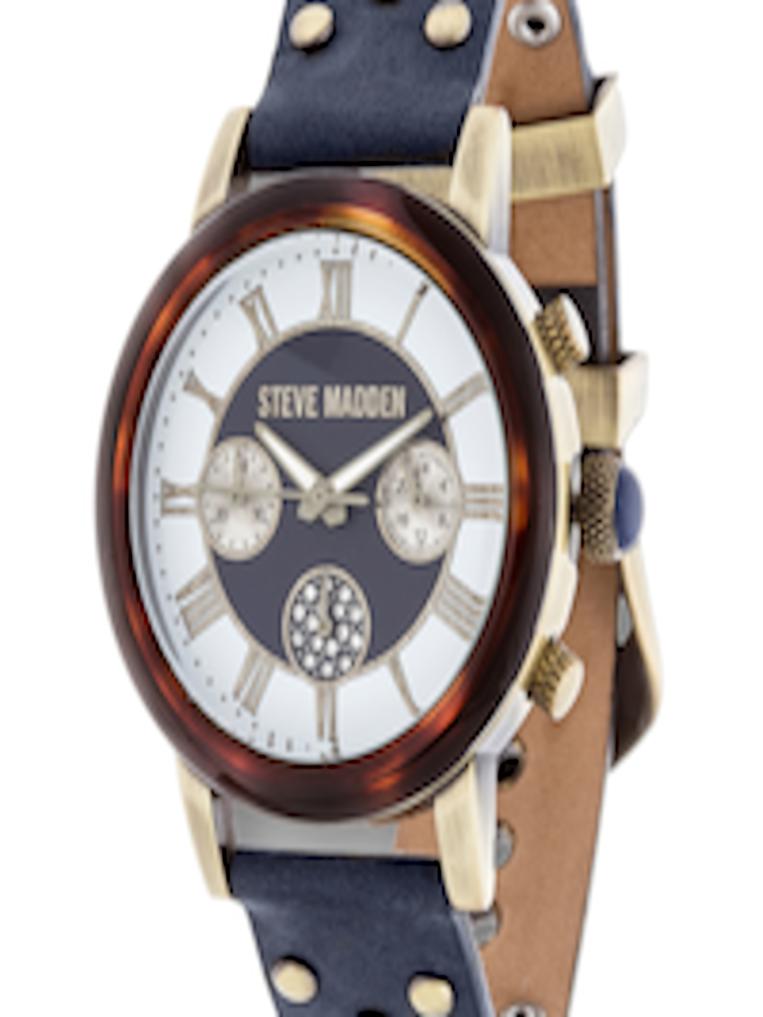 592964f5ad3 Buy Steve Madden Women Blue Analogue Watch SMW001AG NB - - Accessories for  Women