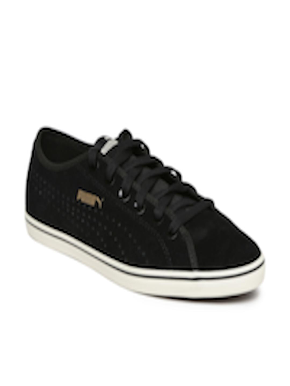 4de139077954 Buy Puma Unisex Black Elsu V2 Perf SD Suede Sneakers - Casual Shoes for  Unisex 2030535