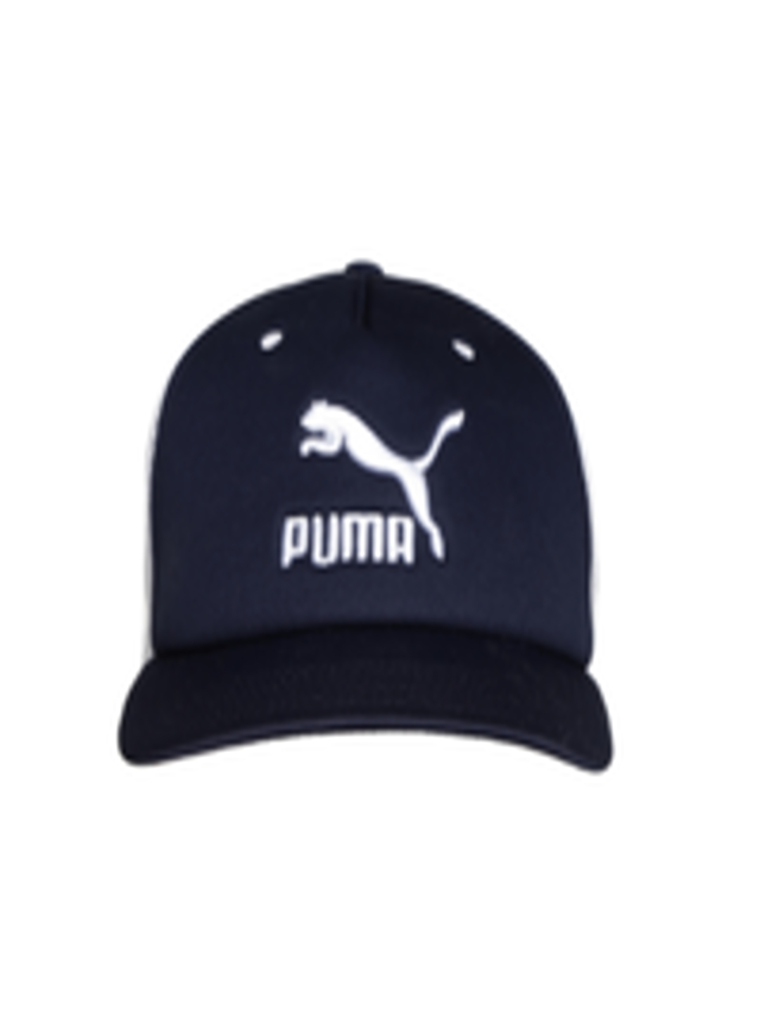 c883cb86e0b Buy Puma Unisex White   Navy ARCHIVE Trucker Cap - Caps for Unisex 2030602