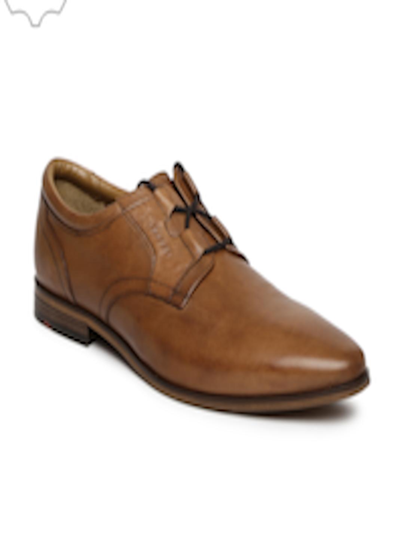 Buy Ruosh Work Men Brown Genuine Leather Semiformal Derbys - Formal Shoes for Men | Myntra