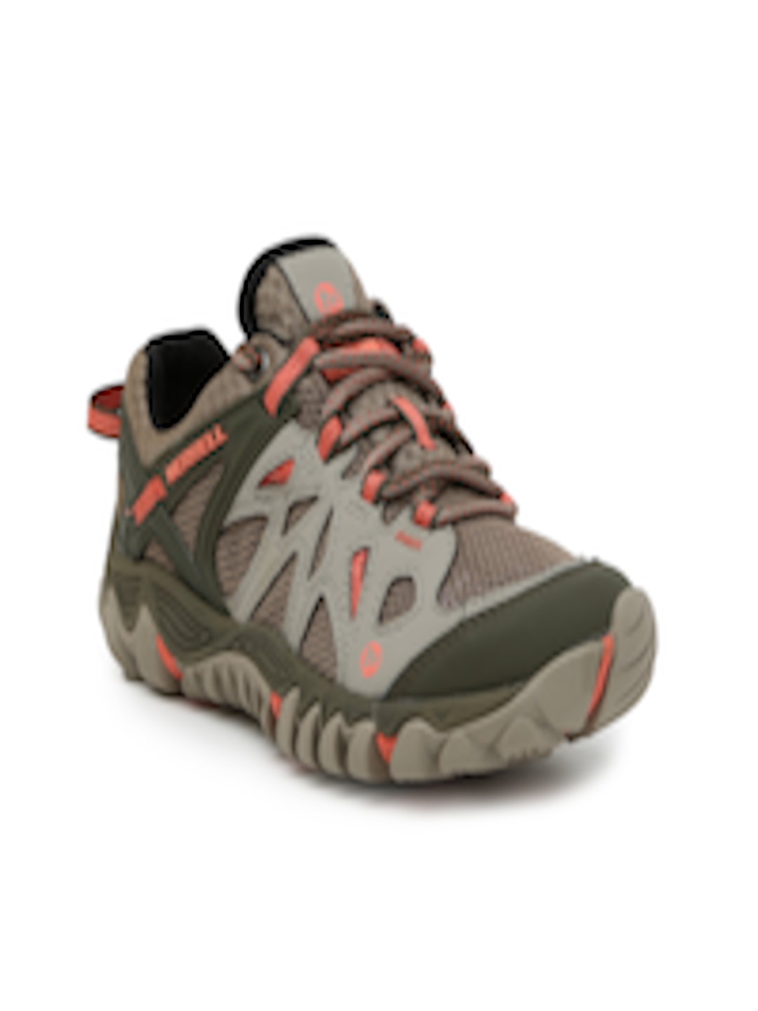 4be48911f9b2 Buy Merrell Women Grey   Olive All Out Blaze Aero Sport Trekking Shoes - Sports  Shoes for Women 2053345