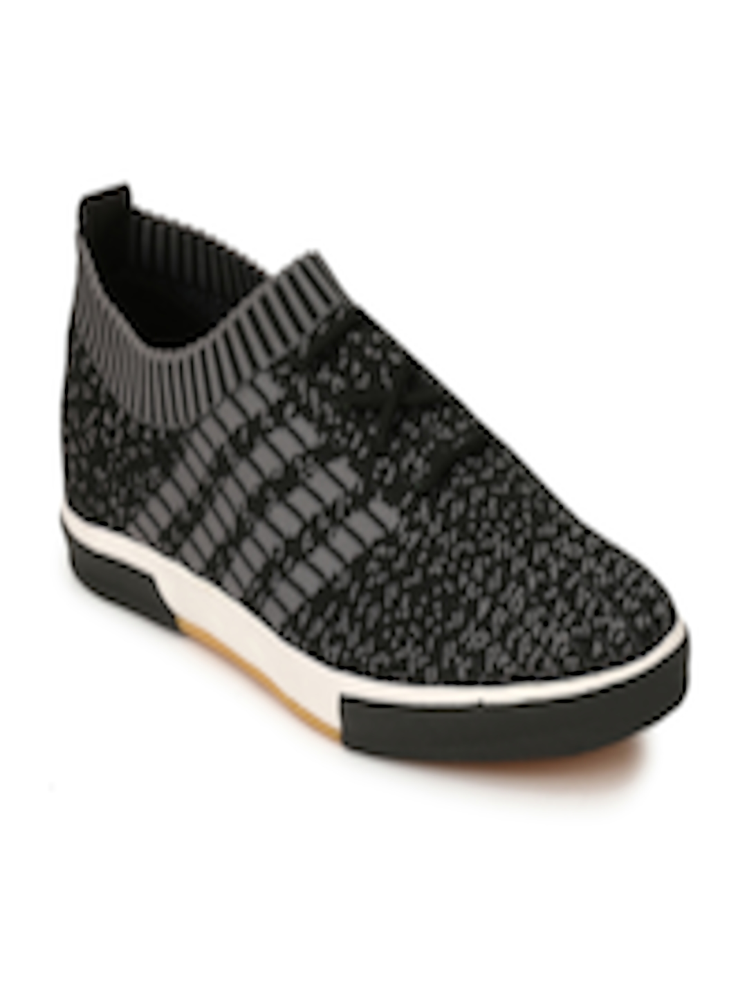 Buy AfroJack Men Black Slip On Sneakers - Casual Shoes for ...