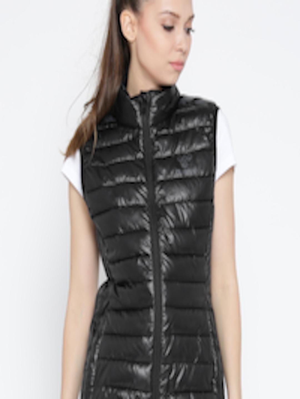 fa7b0a5b49d2 Buy Hummel Women Black Classic Bee Light Sleeveless Puffer Jacket - Jackets  for Women 2061427