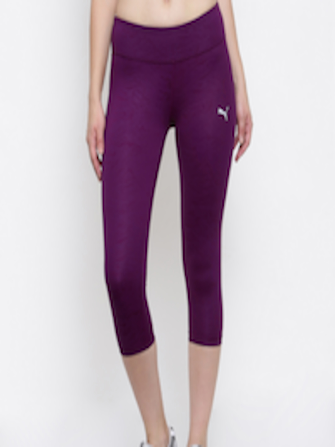 a5b93feac43444 Buy Puma Women Purple ALL EYES ON ME 3/4 Tight - Tights for Women 2084461 |  Myntra