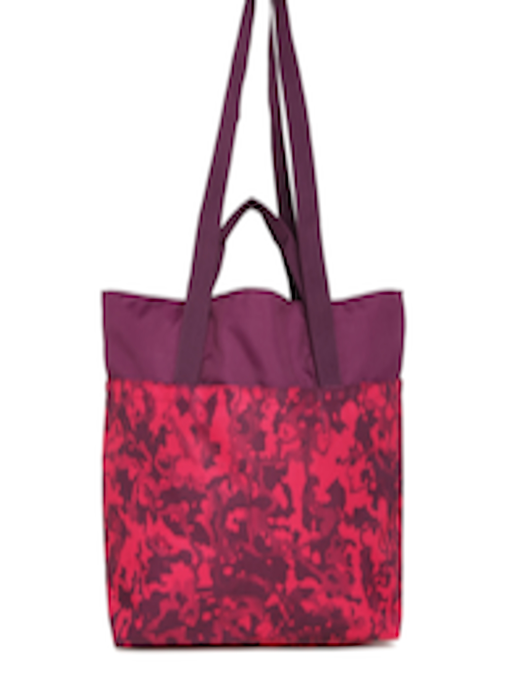 45b6fb6e70 Buy Puma Purple   Pink Printed Core Style Large Shopper Tote Bag - Handbags  for Unisex 2088611