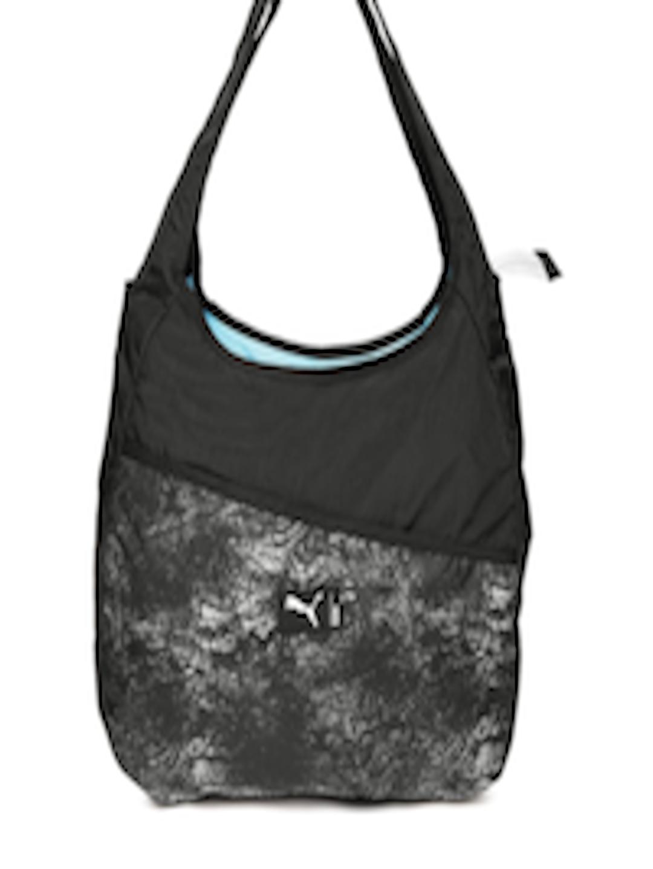 180df764bf Buy Puma Black Printed Studio Hobo Bag - Handbags for Women 2088613 ...