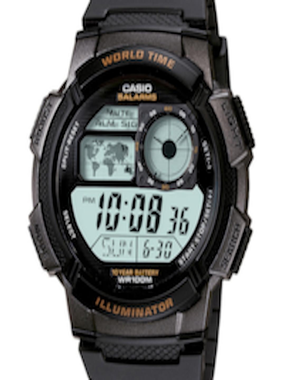 Buy Casio Youth Series Men Digital Watch Ae 1000w 1avdfd080 World Time 1a Original Watches For 209986 Myntra