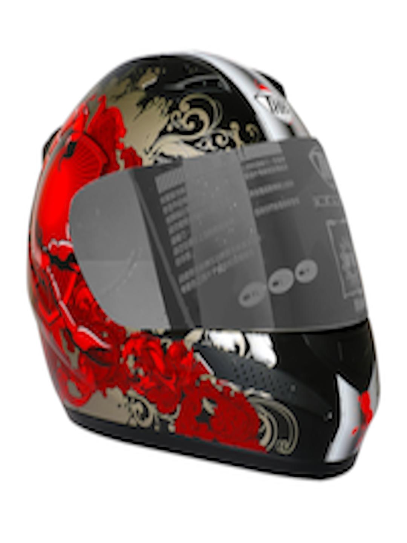 9b4060246 Buy THH Unisex Black & Red Scorpion Printed Full Face Helmet T 76 - Helmets  for Unisex 2107275   Myntra