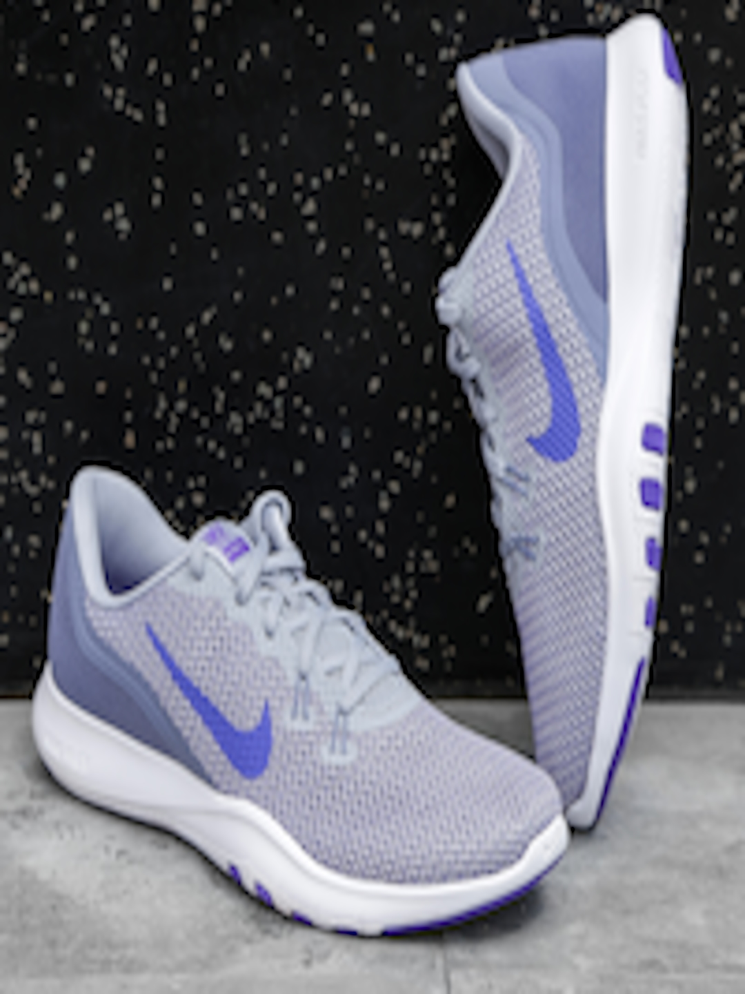 5a593f40d889 Buy Nike Women Grey FLEX TRAINER 7 Training Shoes - Sports Shoes for ...