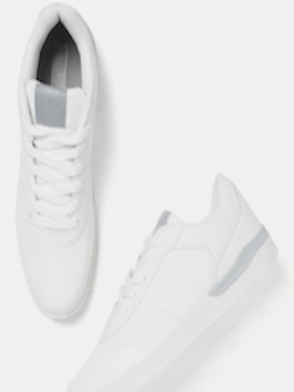 b074b476d Buy HRX By Hrithik Roshan Men White City Sneakers - Casual Shoes for Men  2154001