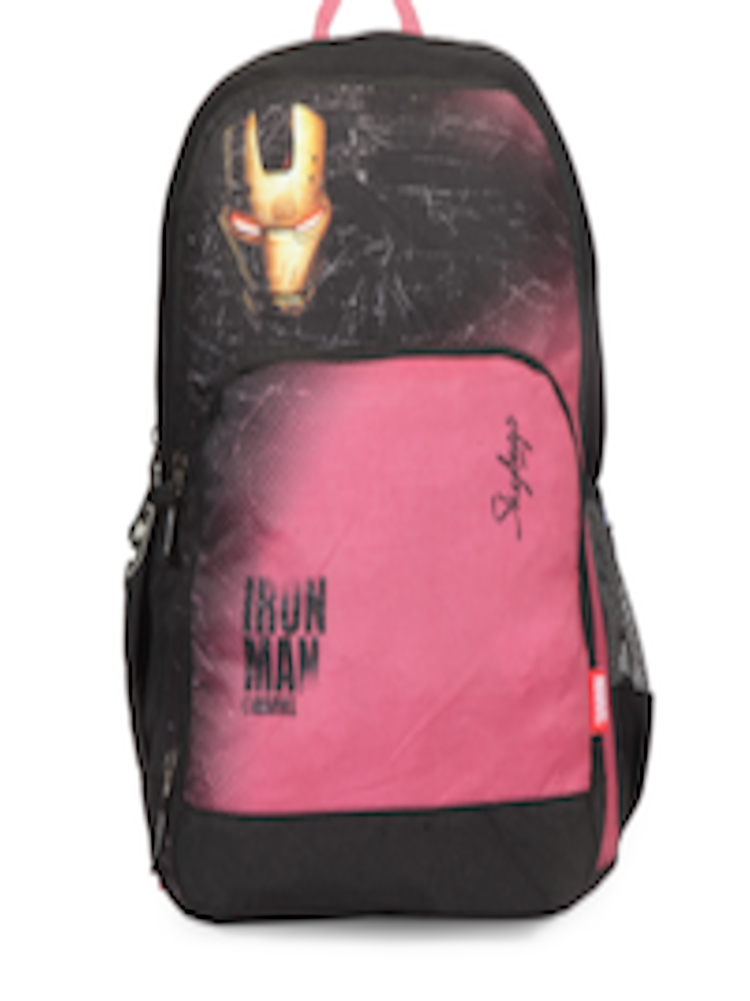 a0658c1c960f Buy Skybags Unisex Black   Pink Graphic Backpack - Backpacks for Unisex  2160838