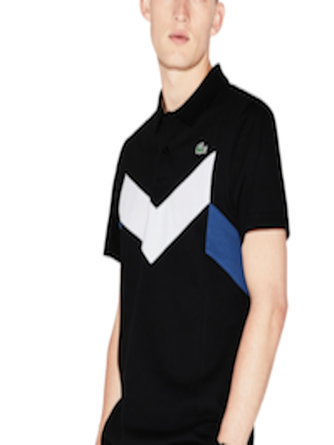 4f1e9375 Buy Lacoste Men Black Sport Tennis Ultra Lightweight Polo - - Apparel for  Men