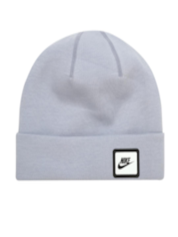Buy Nike Unisex Grey NSW Tech Beanie - Caps for Unisex 2187620  fe478158543