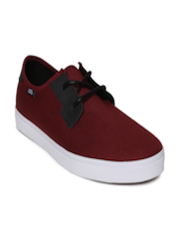 39a57de8cbf226 Buy Vans Men Maroon Sneakers - Casual Shoes for Men 2194878