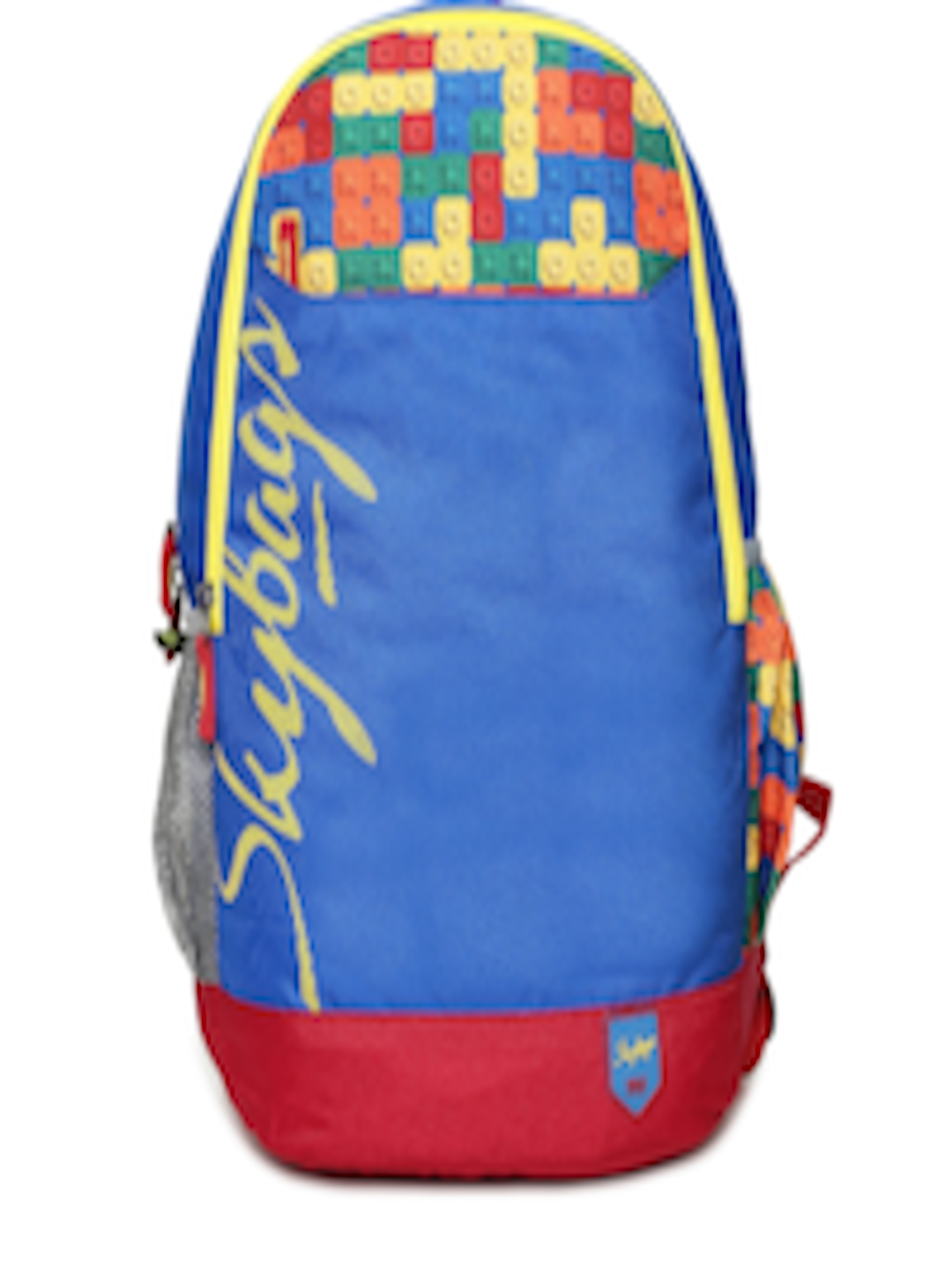 Buy Skybags Unisex Blue   Red Geometric Print CAMEO SCHOOL Backpack -  Backpacks for Unisex 2198105