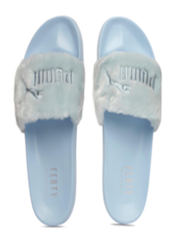 Furry Flip Flops Puma