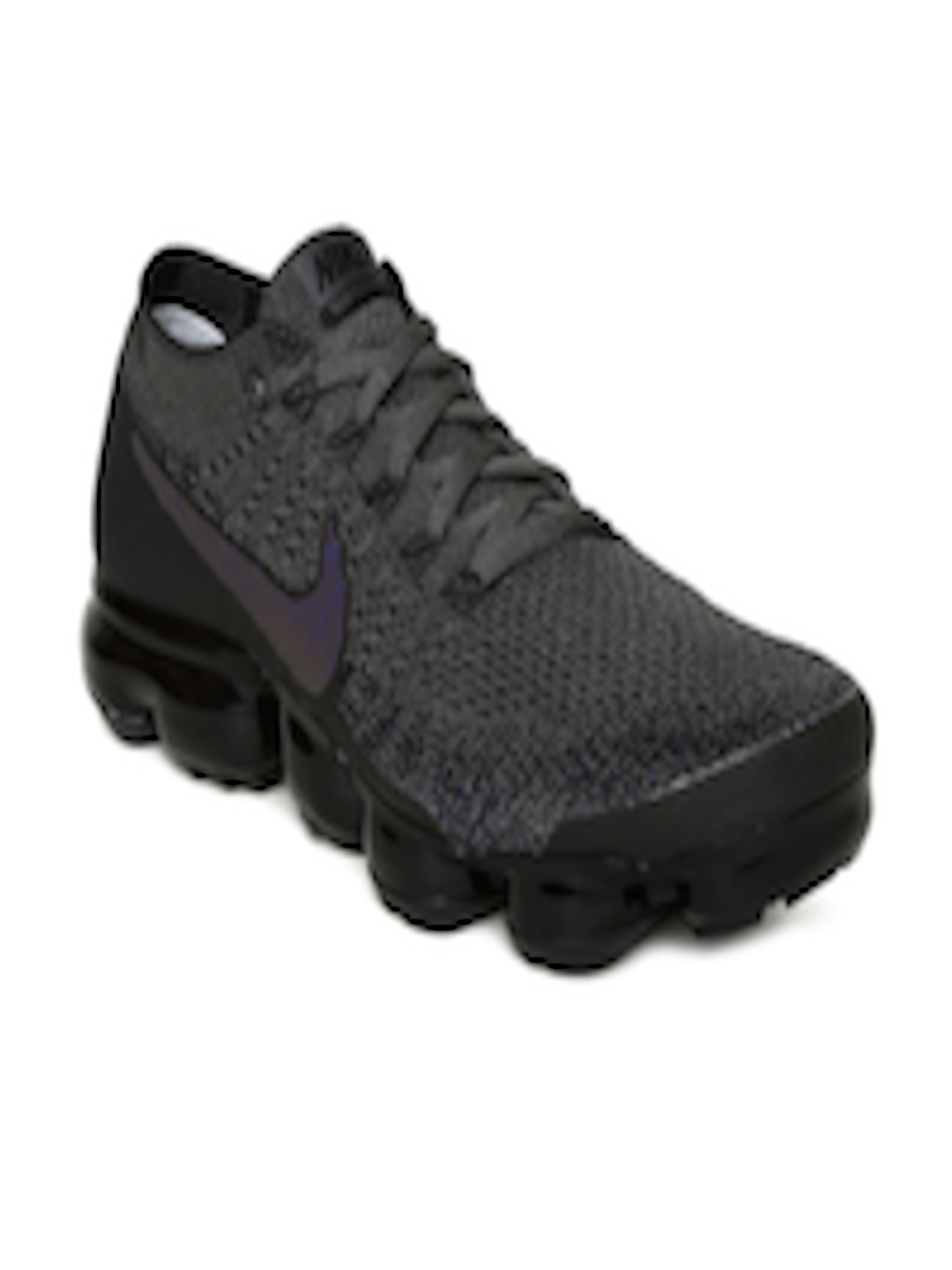 79d70ffc03b8a Buy Nike Women Charcoal Grey Air Vapormax Flyknit Running Shoes - Sports  Shoes for Women 2239282
