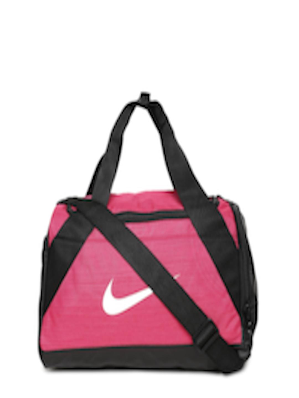 c2ee64afc22b Buy Nike Unisex Pink   Black NK BRSLA XS Duffel Bag - Duffel Bag for Unisex  2239398