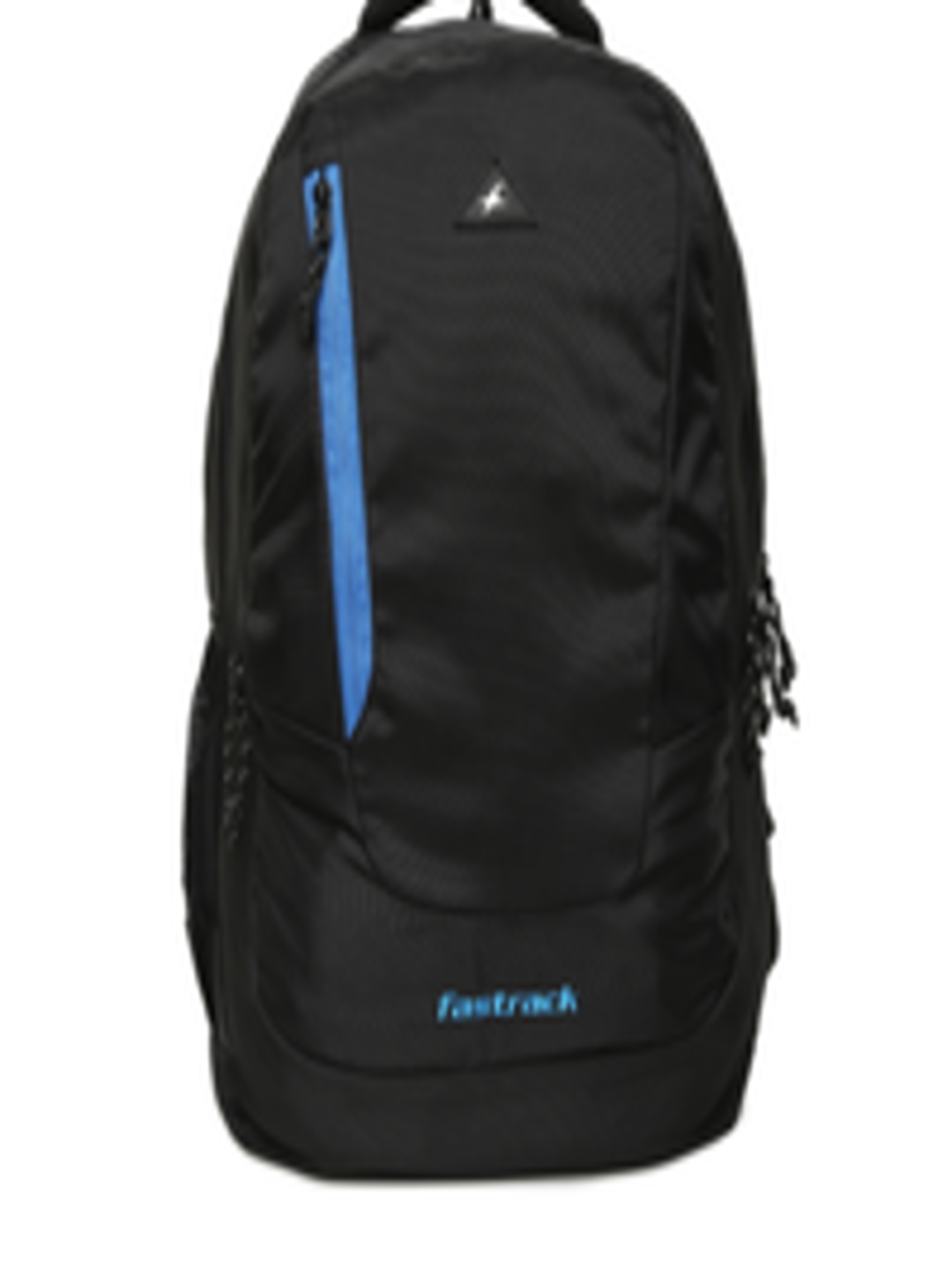 Buy Fastrack Unisex Black Solid Backpack Backpacks For