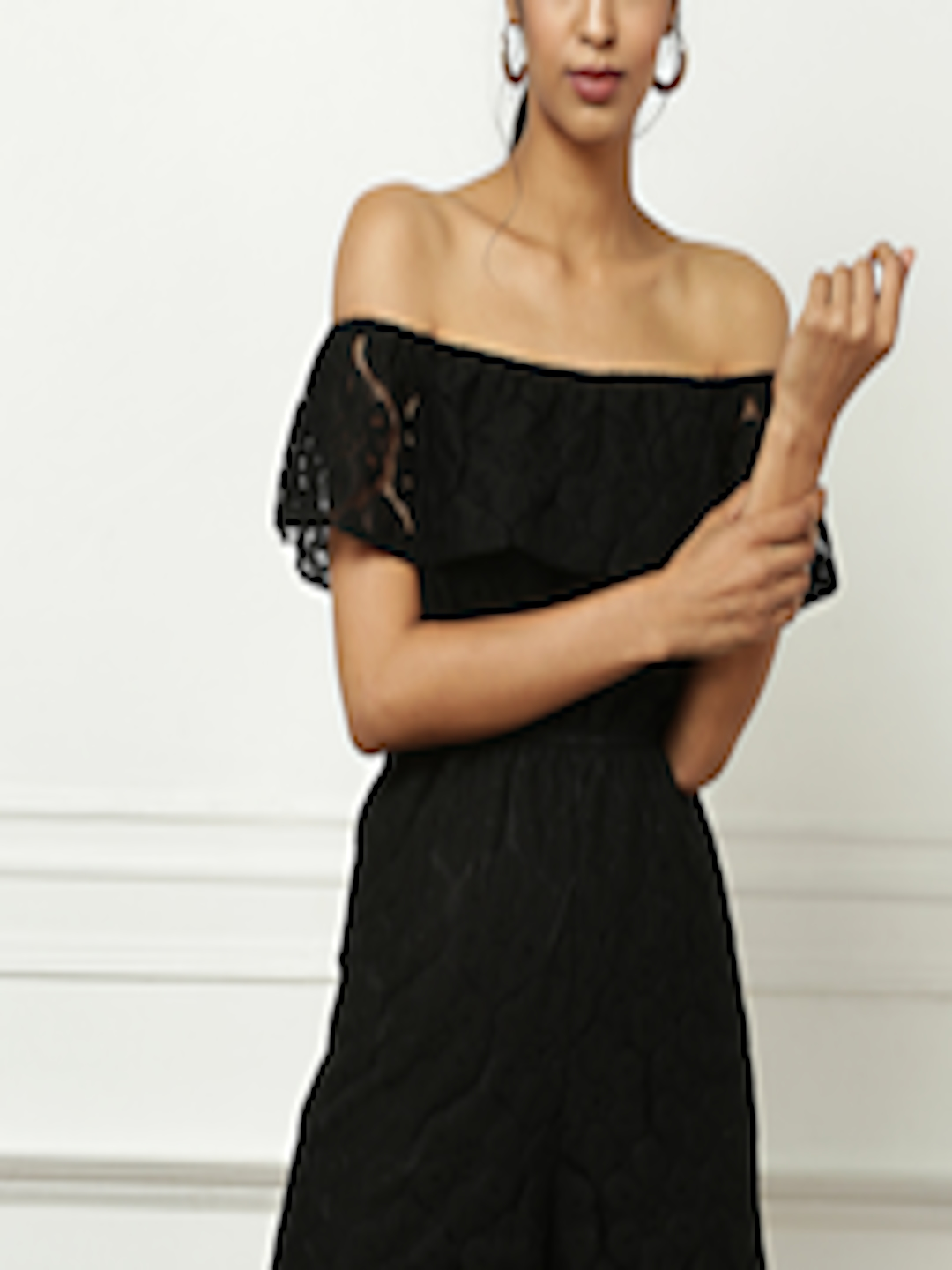 Buy All About You From Deepika Padukone Black Off Shoulder ...