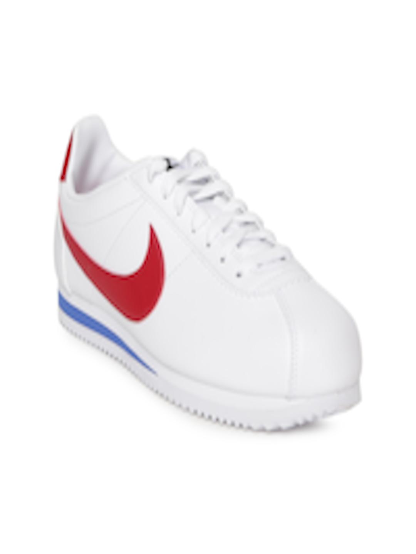f70faa42e85d4 Buy Nike Women White CLASSIC CORTEZ Leather Sneakers - Casual Shoes for  Women 2314764