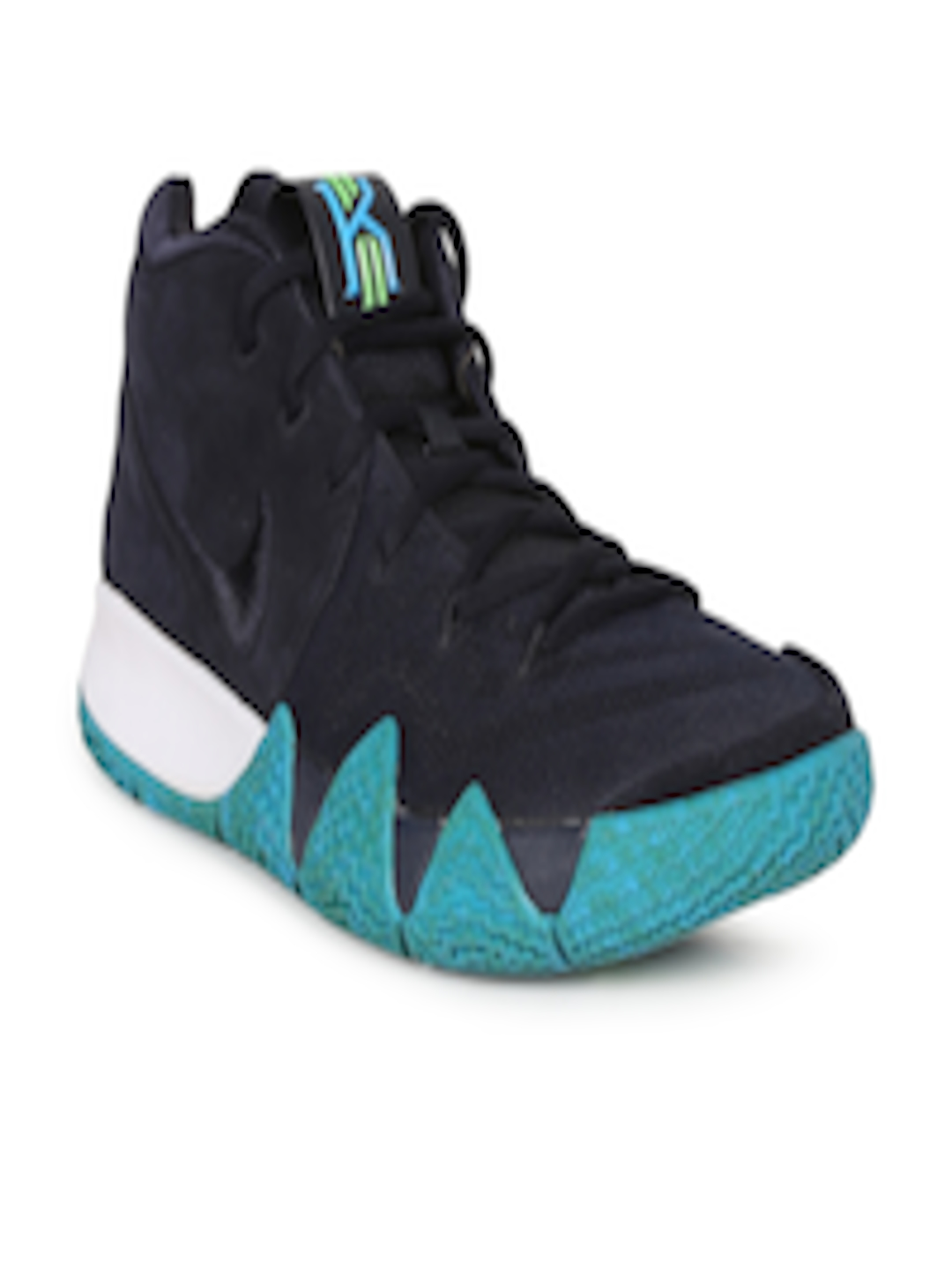 check out 4f0a5 f9413 Buy Nike Men Black Leather Kyrie 4 Basketball Shoes - - Footwear for Men