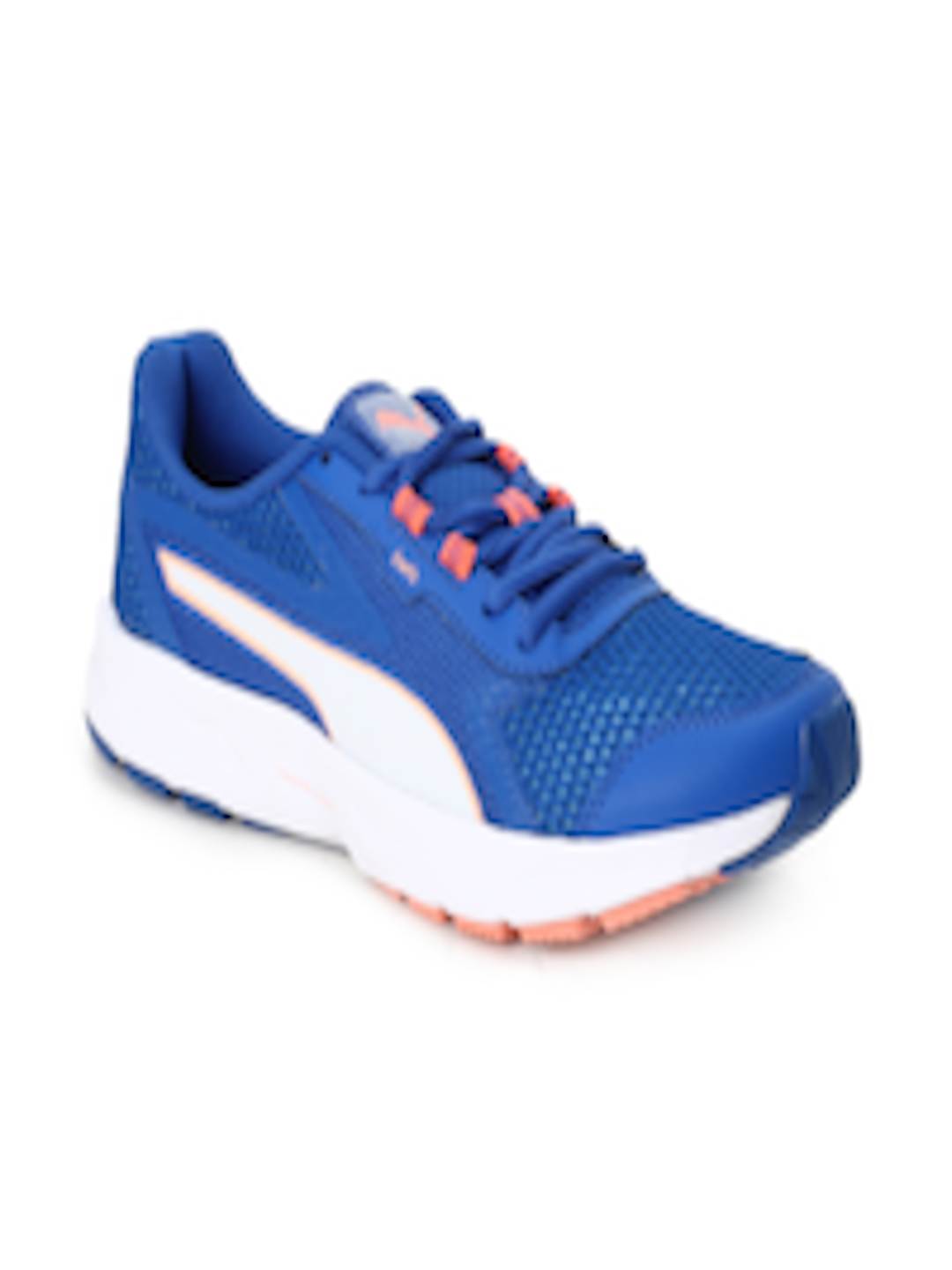 99b894ee77cc Buy Puma Women Blue Mesh Mid Top Running Shoes Essential Runner Wn S IDP - Sports  Shoes for Women 2354346