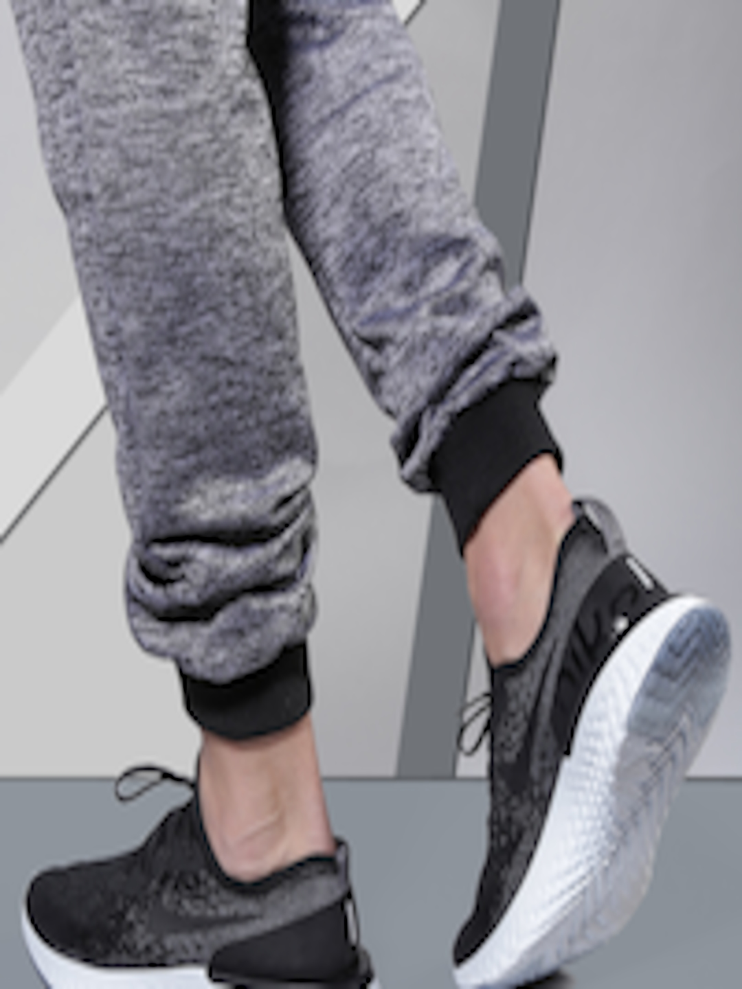 2f8f66836c97 Buy Nike Men Black EPIC REACT FLYKNIT Running Shoes - Sports Shoes for Men  2367235