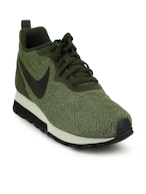 e88b171699b Buy Nike Men Green MD RUNNER 2 ENG MESH Sneakers - Casual Shoes for Men  2375656