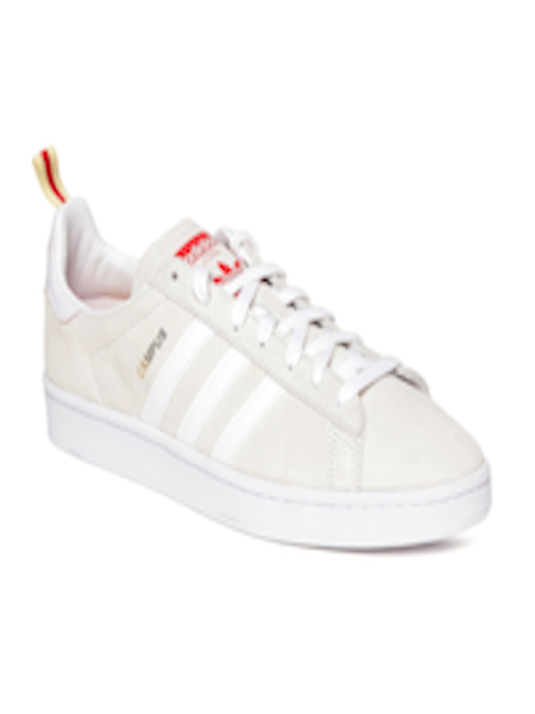 best sneakers c39ec 98c05 Buy ADIDAS Originals Men Off White Campus CNY Leather Sneakers - Casual  Shoes for Men 2393798  Myntra