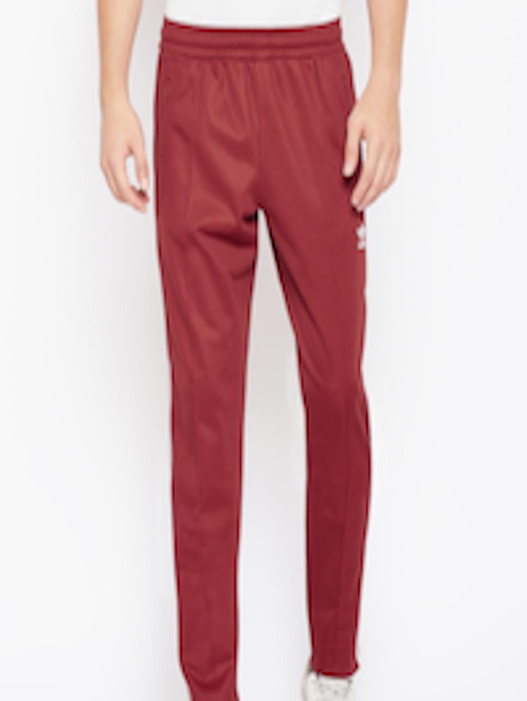 73d2a27a6df6 Buy ADIDAS Originals Men Rust Red BECKENBAUER Track Pants - Track ...