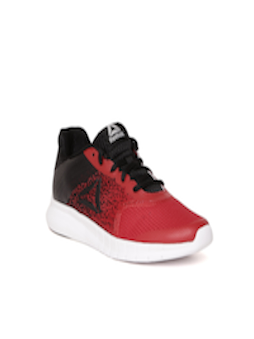 e23205fcd0b Buy Reebok Boys Red   Black Instalite Woven Design Running Shoes - Sports  Shoes for Boys 2404071