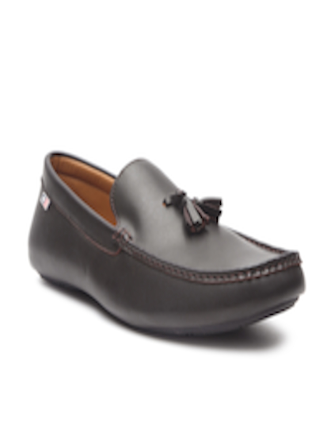 3639e958b5c Buy Arrow Men Coffee Brown Leather Tassel Loafers - Casual Shoes for Men  2405372