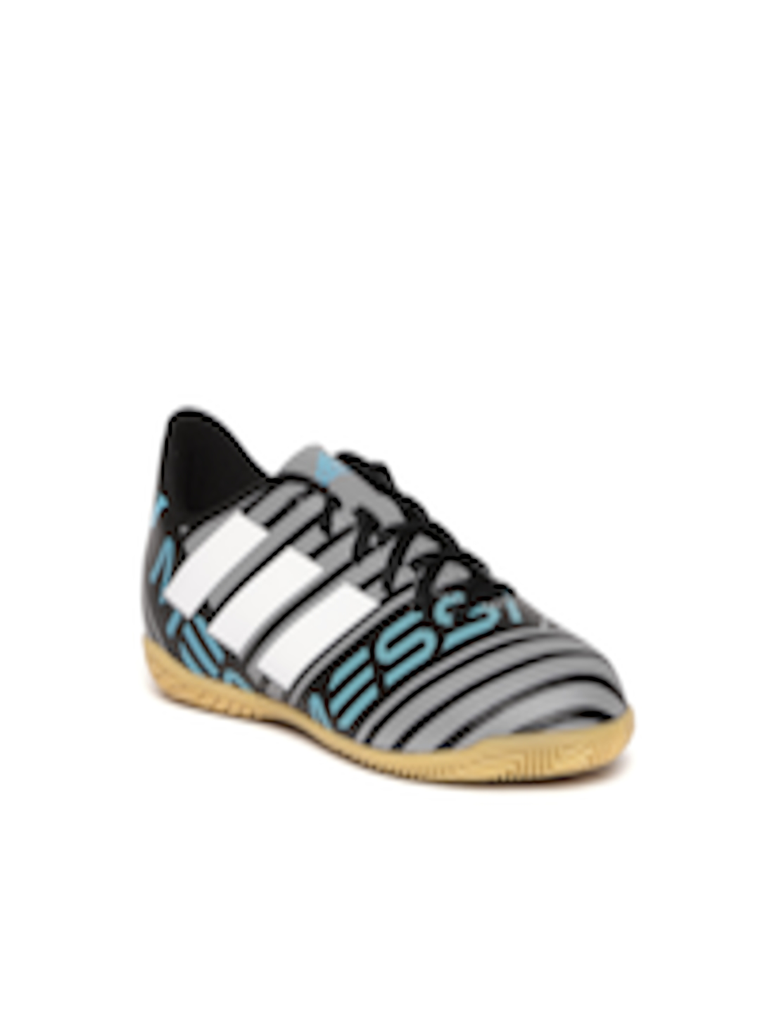 Buy ADIDAS Boys Grey & Black Nemeziz Messi Tango 17.4 IN J Striped Football Shoes Footwear for Boys
