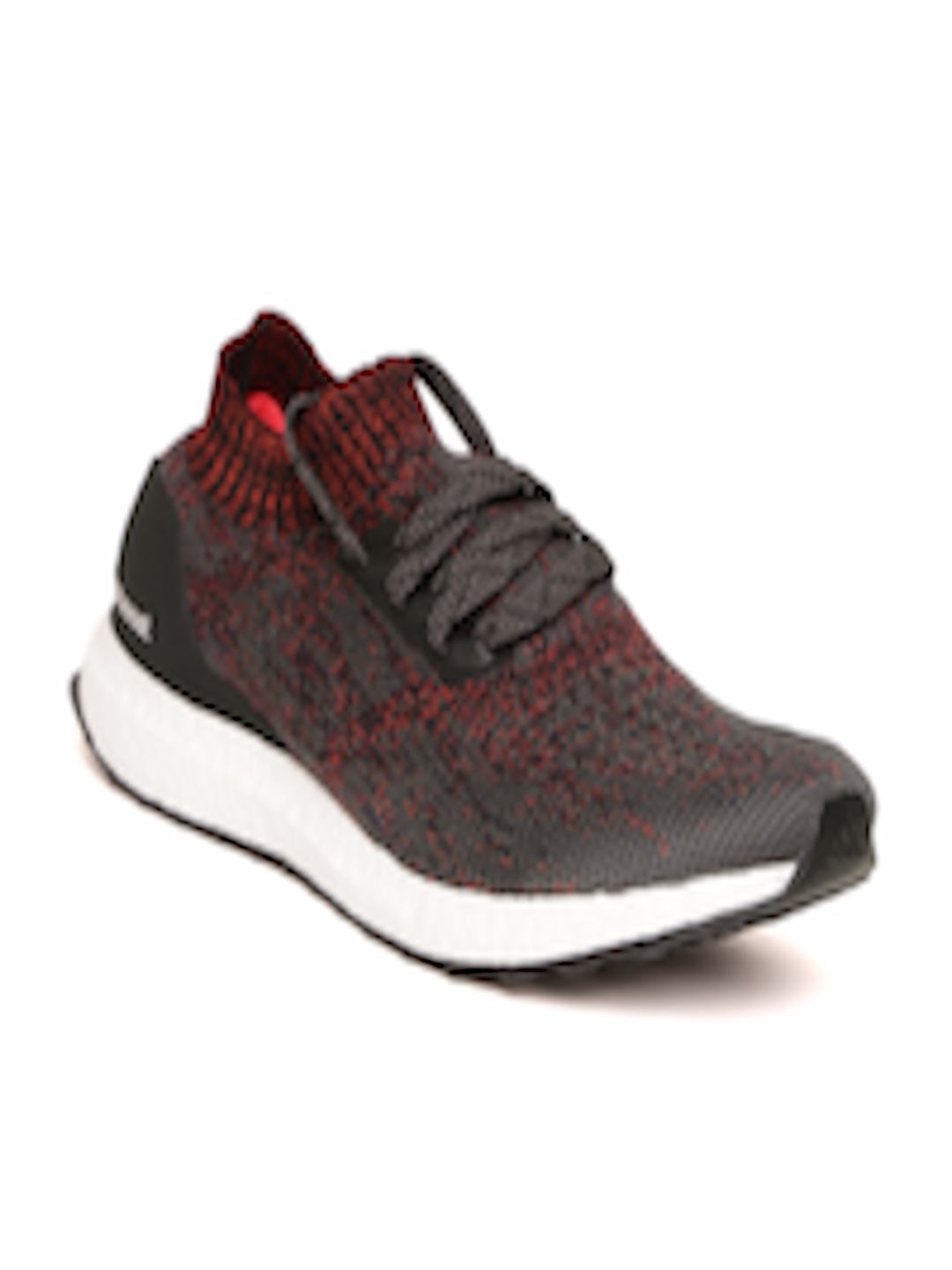 080b89eda4a Buy ADIDAS Men Charcoal Grey   Red Ultraboost Uncaged Running Shoes -  Sports Shoes for Men 2409833