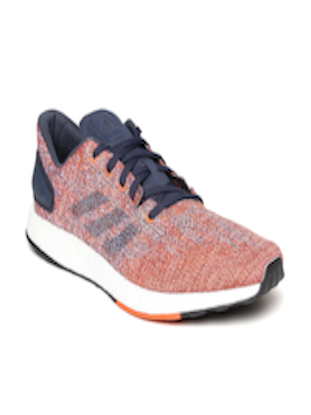 4813a422b Buy ADIDAS Men Navy   Orange Pureboost DPR Running Shoes - Sports Shoes for  Men 2410039