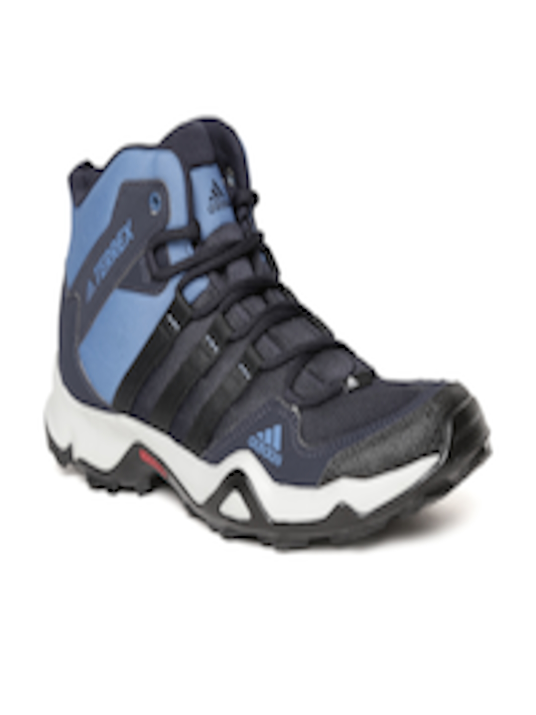 b940c947fff8 Buy Adidas Men Blue   Black Path Cross Mid AX2 Trekking Shoes - Sports Shoes  for Men 2410105