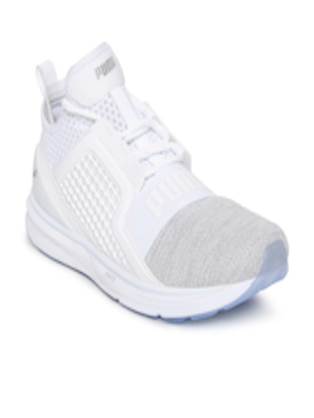 Buy Puma Men White IGNITE Limitless Knit Sneakers - Casual Shoes for ... ae9a0f942