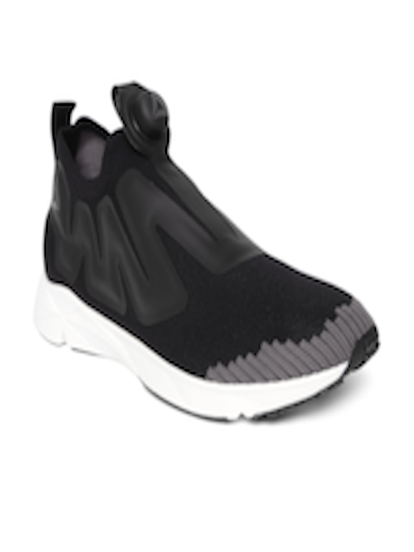 best service 3eb49 ed7f6 Buy Reebok Unisex Black Pump Supreme ULTK Running Shoes - Sports Shoes for  Unisex 2436370   Myntra