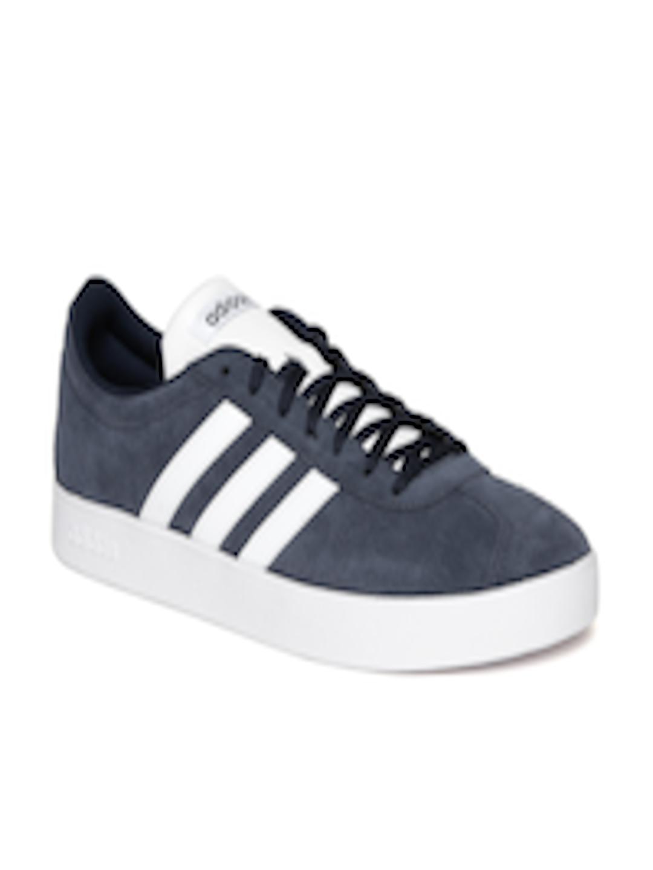 Buy ADIDAS Men Navy Blue VL COURT 2.0 Sneakers Footwear for Men