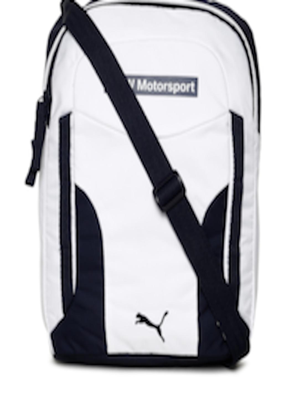0e094c07e187 Buy Puma Unisex White BMW Motorsport Portable Messenger Bag - Messenger Bag  for Unisex 2445178