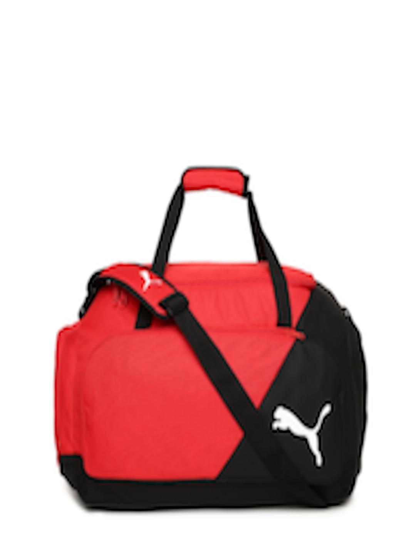 1486556e53 Buy Puma Unisex Black   Red LIGA Medium Sports Duffel Bag - Duffel Bag for  Unisex 2445239