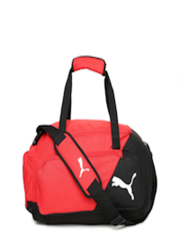 f99fc3535fa9 Buy Puma Unisex Red   Black Colourblocked LIGA Small Duffel Bag - Duffel Bag  for Unisex 2445243