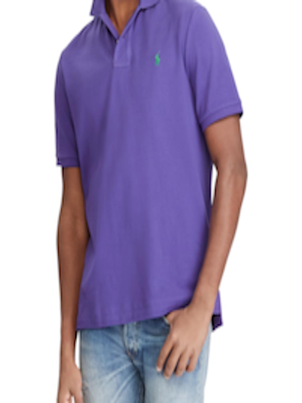 04a9ded7c Buy Polo Ralph Lauren Custom Slim Fit Mesh Polo Shirt - Tshirts for Men  2449053