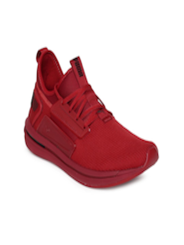 on sale 99dfa ec041 Buy Puma Men Red IGNITE Limitless SR Sneakers - - Footwear for Men